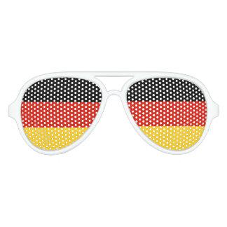 El fiesta alemán de la bandera sombrea el orgullo lentes de sol