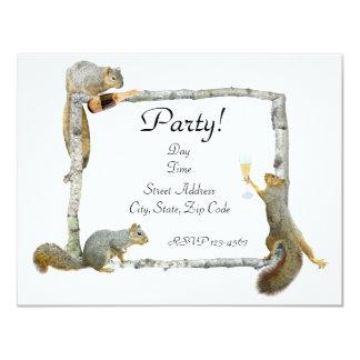 El fiesta atesora la invitación