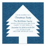 El fiesta azul de los remolinos del árbol de comunicados personalizados
