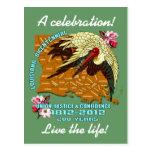El fiesta bicentenario de Luisiana del carnaval Tarjetas Postales