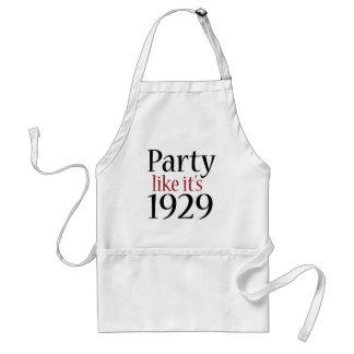 El fiesta como él es 1929 (la recesión) delantal