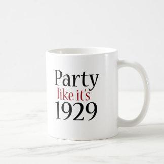 El fiesta como él es 1929 (la recesión) taza de café