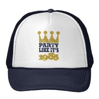 El fiesta como él es 1985 gorra