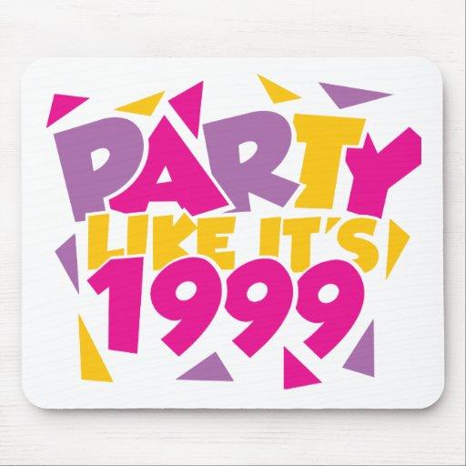 El fiesta como él es 1999 - Funky1 Alfombrilla De Raton