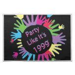 El fiesta como él es 1999 - Placemat - circunda la Mantel Individual