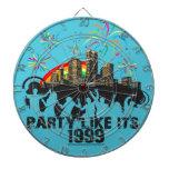 El fiesta como él es 1999 - tablero de dardo - ciu tabla dardos