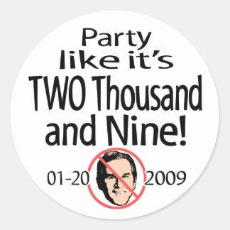 El fiesta como él es el pegatina 2009