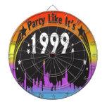 El fiesta como él es tablero de dardo 1999 - arco  tablero dardos