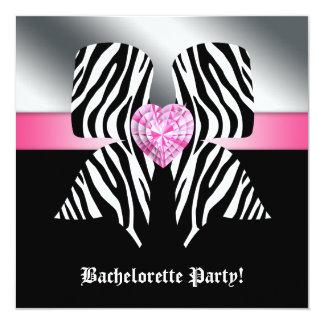 """El fiesta de Bachelorette de la diversión invita a Invitación 5.25"""" X 5.25"""""""