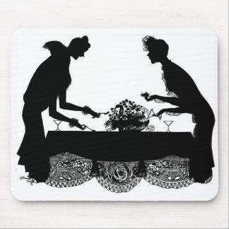 """""""El fiesta de cena """" Alfombrillas De Ratón"""