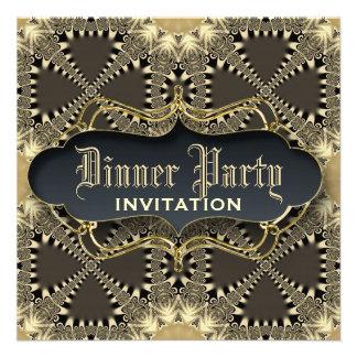 El fiesta de cena medieval de la elegancia del cor anuncio personalizado