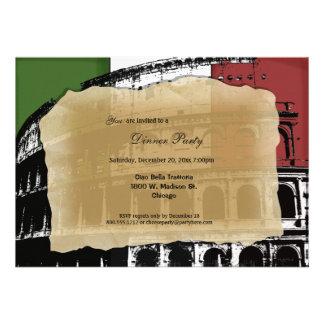 El fiesta de cena romano contemporáneo del coliseo anuncios personalizados