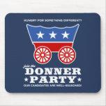 ¿El fiesta de Donner - hambriento para algo difere Alfombrilla De Raton