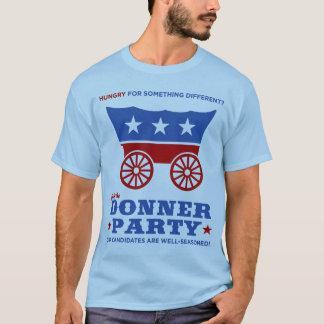 ¿El fiesta de Donner - hambriento para algo Playera