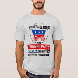¡El fiesta de Donner le quiere! Playera
