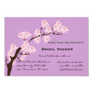 El fiesta de ducha nupcial rosado LINDO invita Invitación 8,9 X 12,7 Cm