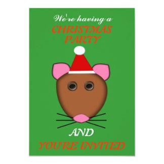 El fiesta de encargo del ratón de las Felices Comunicados Personalizados