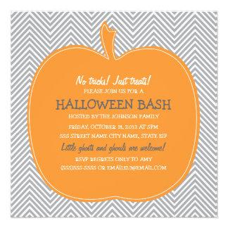El fiesta de Halloween de la calabaza de Chevron i
