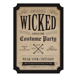 El fiesta de Halloween del boticario invita
