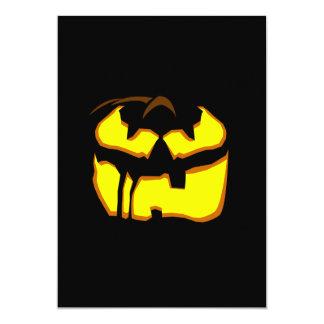 El fiesta de Halloween invita a 3 Invitación 12,7 X 17,8 Cm