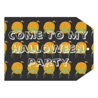El fiesta de Halloween invita a la etiqueta Comunicados