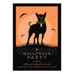 El fiesta de Halloween invita - al perro asustadiz