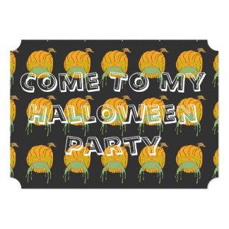 El fiesta de Halloween invita Anuncios Personalizados