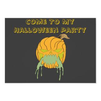 El fiesta de Halloween invita Anuncio Personalizado