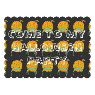 El fiesta de Halloween invita Invitacion Personalizada