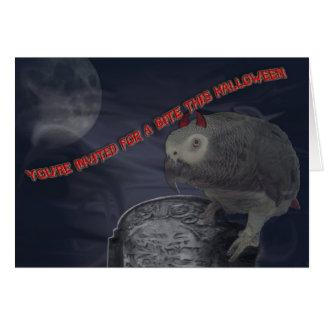 El fiesta de Halloween invita Tarjeta De Felicitación