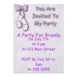 El fiesta de la bailarina invita invitaciones personalizada