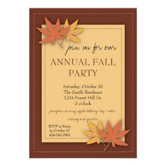El fiesta de la caída deja la invitación
