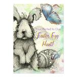 El fiesta de la caza del huevo de Pascua invita