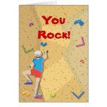 El fiesta de la escalada le agradece las notas tarjeton