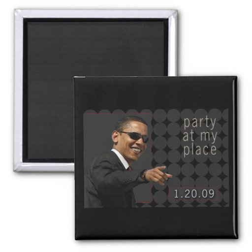 El fiesta de la inauguración de Obama invita - Imán Cuadrado