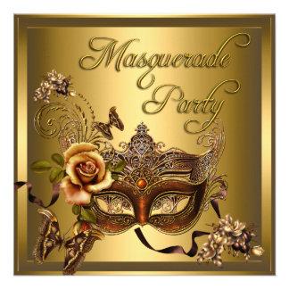 El fiesta de la mascarada enmascara cumpleaños neg comunicados personales