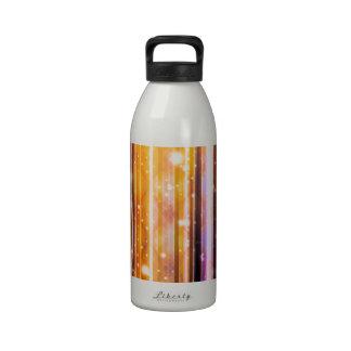 El fiesta de lujo soña diseño abstracto futurista botella de beber