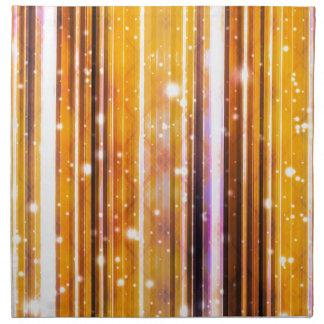 El fiesta de lujo soña diseño abstracto futurista servilletas