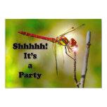El fiesta de sorpresa de Dragonlyte invita Invitación 12,7 X 17,8 Cm