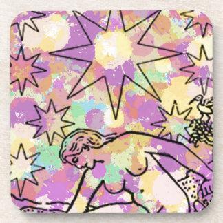 El fiesta de Tarot de la estrella Posavaso