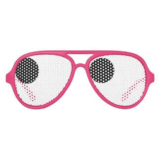 El fiesta del bachelorette del globo del ojo de la gafas de fiesta
