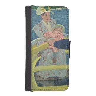 El fiesta del canotaje, 1893-94 (aceite en lona) carteras para teléfono