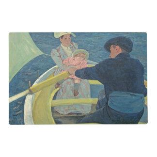 El fiesta del canotaje, 1893-94 (aceite en lona) tapete individual