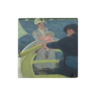 El fiesta del canotaje de Mary Cassatt Imán De Piedra