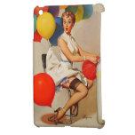 El fiesta del helio del vintage hincha el Pin de E iPad Mini Fundas