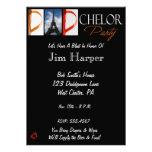 El fiesta del Papá-chelor invita en fotografía del Anuncios Personalizados