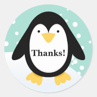 El fiesta del pingüino le agradece los pegatinas
