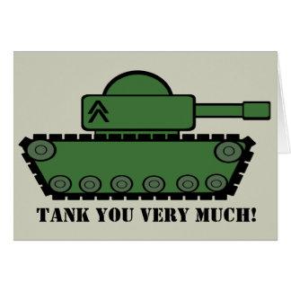 El fiesta del tanque le agradece felicitación