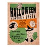 El fiesta del traje de Halloween del estilo del vi