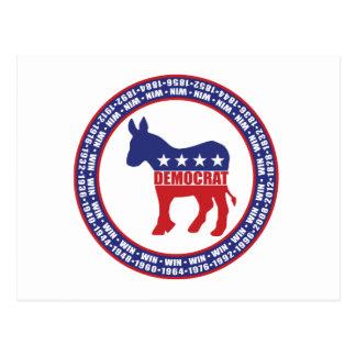 El fiesta Democratic gana Postal